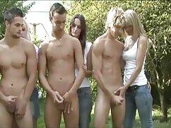Masaje al aire libre y facial con la señoras cojiendo en la calle rubia madura Katie Jane